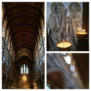 A beautiful visit in St Paul Cathedral in Melbourne
